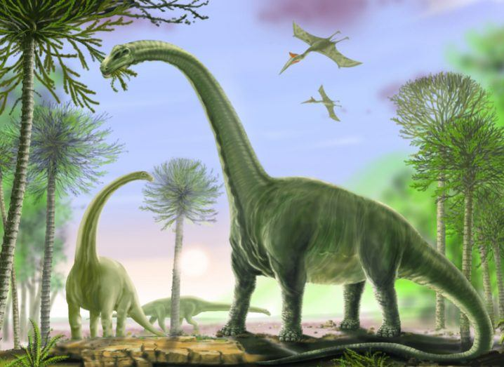 Argentinosaurus, the previous 'largest dinosaur ever'