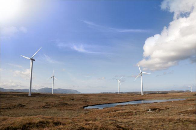 Wind farm in Ireland. Image: morrison/Shutterstock
