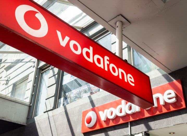 Vodafone signs