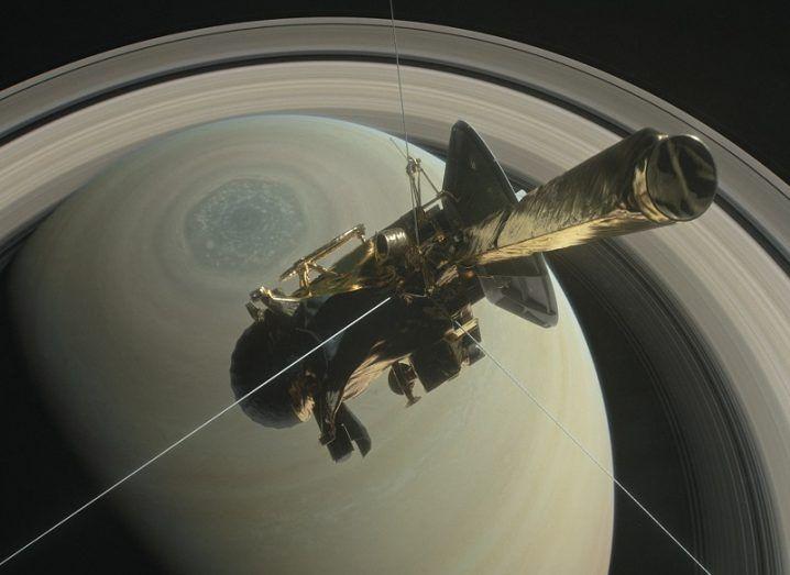 Cassini finale