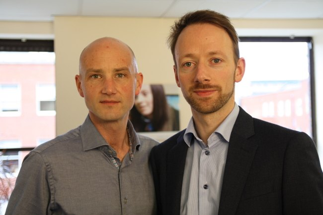 Adaptemy's founders are COO Conor Flynn (left) and CEO Conor O'Sullivan. Image: Select PR