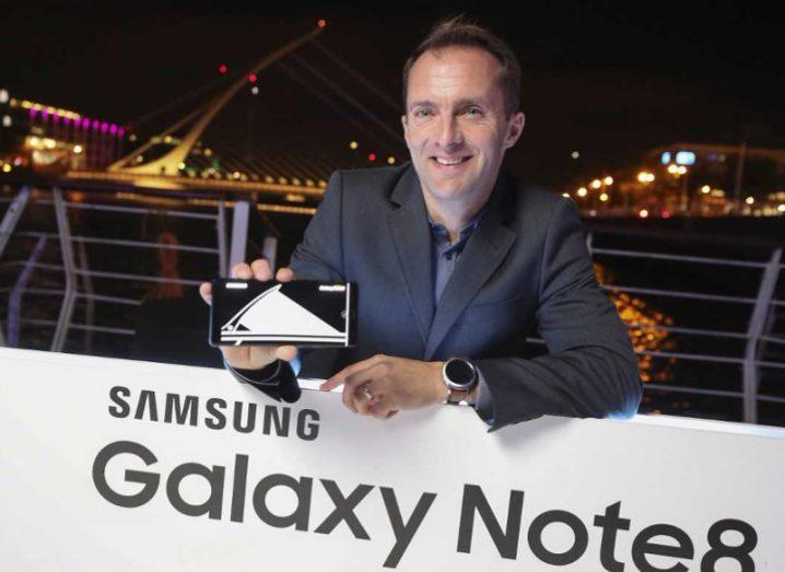 Take Note of Samsung boss Conor Pierce's take on the future of mobile