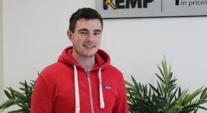 Danny Cremin, intern with Kemp Technologies