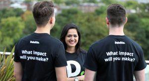 Deloitte graduates