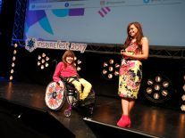 Izzy Wheels wows the crowd at Inspirefest 2017