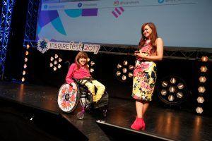 Izzy Keane and Ailbhe Keane at Inspirefest 2017