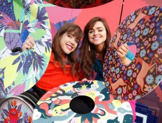 These Irish sisters are on a roll with statement style for wheelchairs