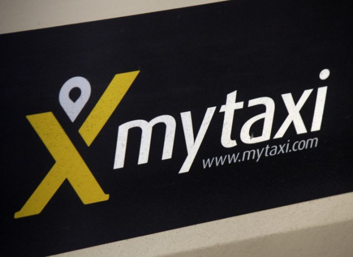 MyTaxi sign
