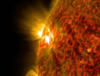 Largest solar flare in more than a decade hits Earth, creating a spectacular sight