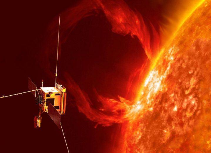 Solar Orbiter with Enbio technology