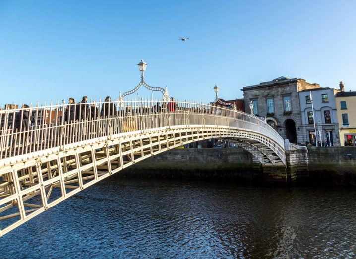 Dublin City Centre - Ha'penny Bridge