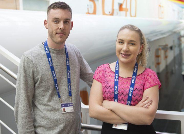 ESA Irish scientists