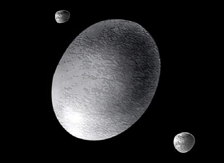 Haumea and moons