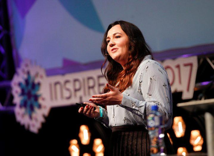Karen Church, Intercom, at Inspirefest 2017