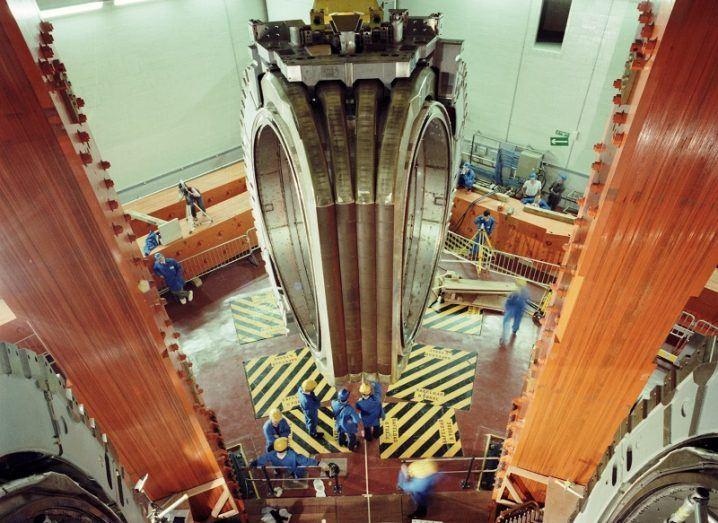 JET nuclear fusion reactor