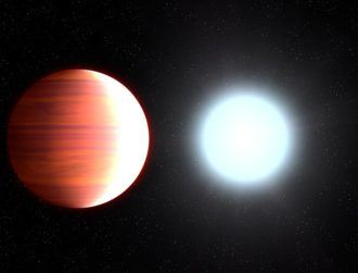 On a bizarre, distant exoplanet, it snows sunscreen