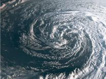 Why is Storm Ophelia an ex-hurricane and what is a sting jet?