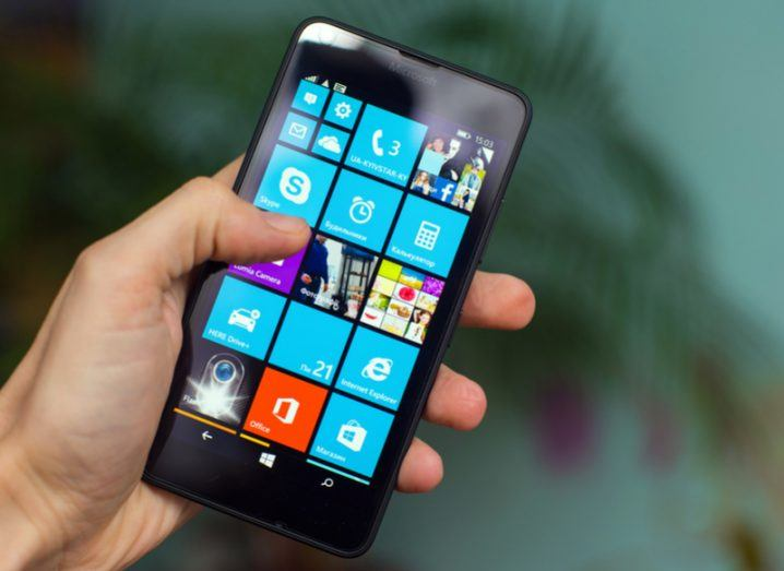 Windows Lumia Phone