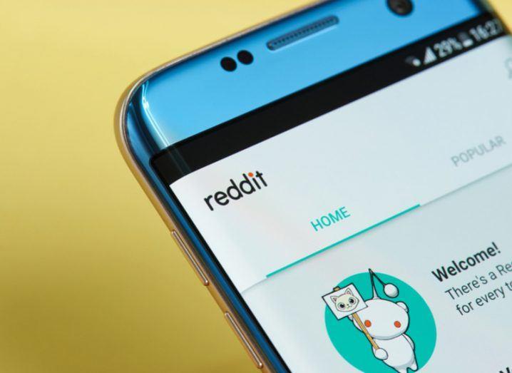 Reddit mobile app