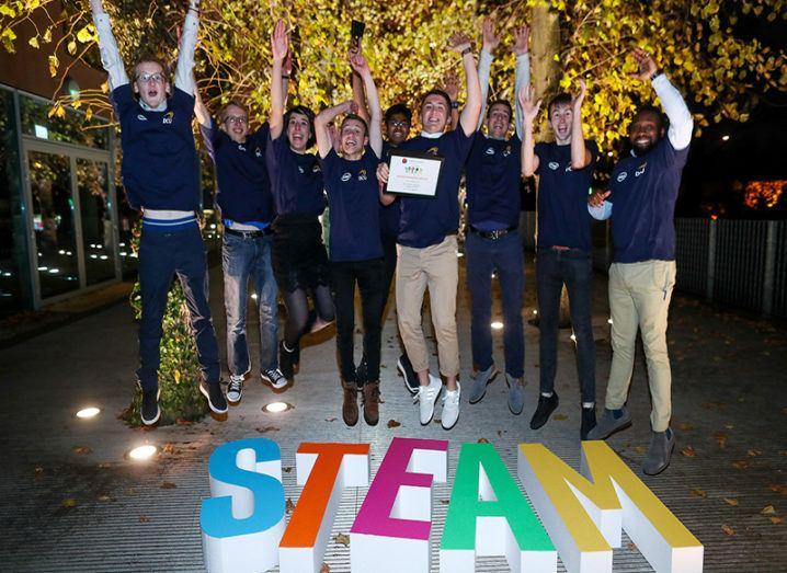 DCU STEAM hackathon winners