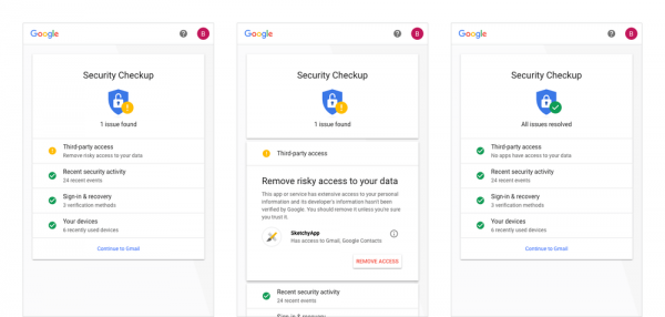 New Google personal security feature