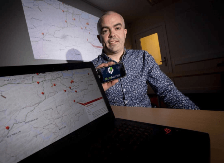 Extreme weather app generates 500,000 alerts during Ophelia