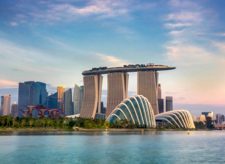 Landscape of the Singapore financial district. Image: anekoho/Shutterstock