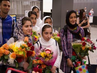 Afghan girls' robotics team overcomes adversity to win European contest