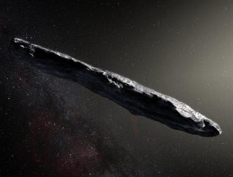 Our solar system was visited by an object from another solar system