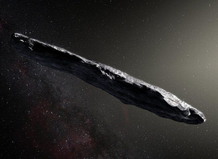 Interstellar Asteroid Looks Like a Spinning Space Cigar