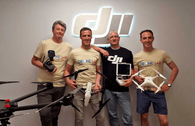 DroneSAR wins top EU prize for its life-saving drone technology