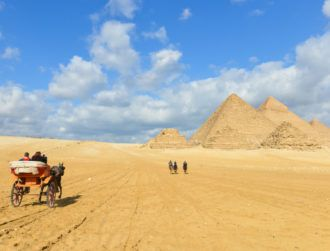 Cosmic particles reveal mysterious void in Egypt's great pyramid
