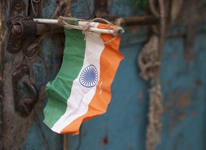 India flag Google