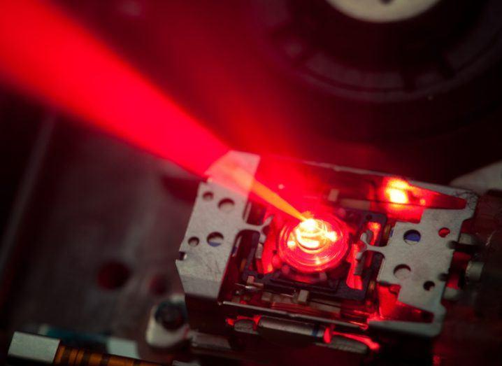 Laser DVD microscope