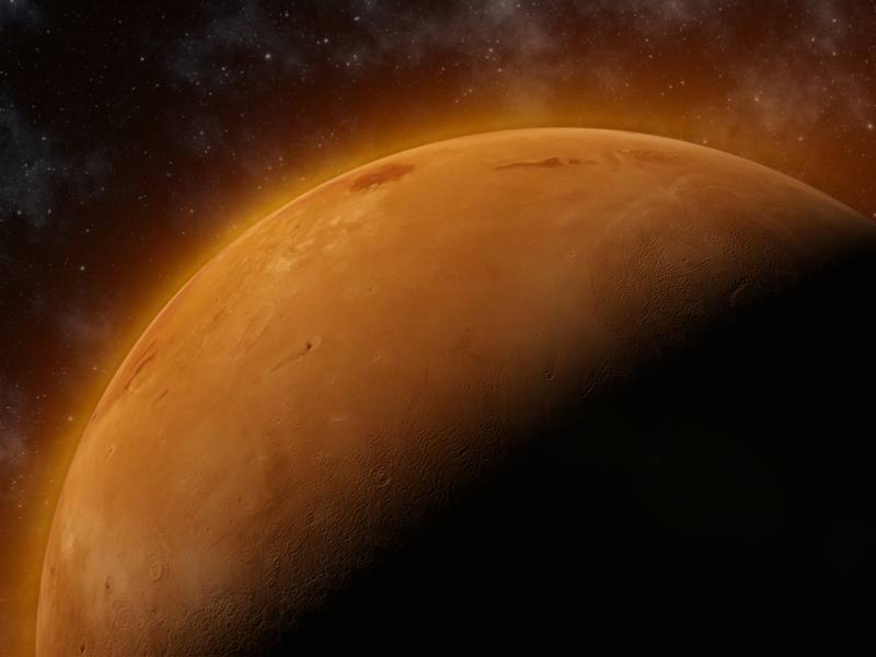 Mars may not have large amounts of water on its surface after all