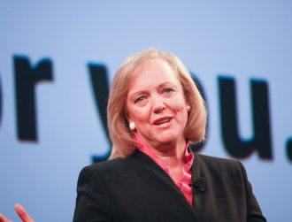Meg Whitman to step down as CEO of Hewlett Packard Enterprise next year