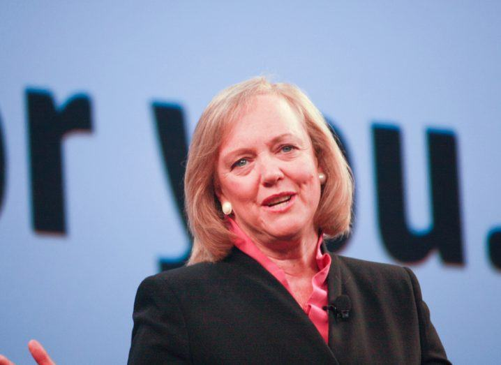 Meg Whitman steps down as HP Enterprise CEO