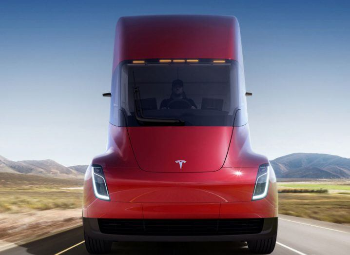 Tesla is popping after its semi truck and roadster announcements (TSLA)
