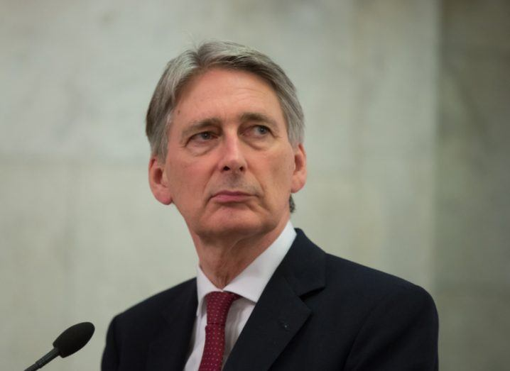 Philip Hammond UK chancellor