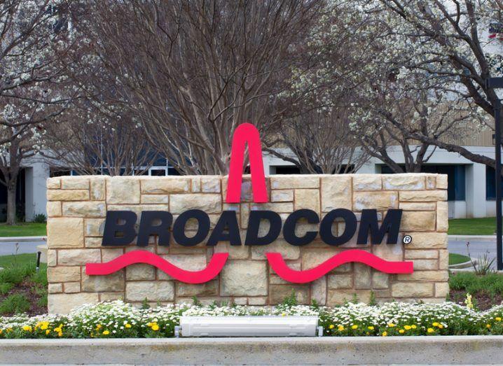 Broadcom facility in Silicon Valley