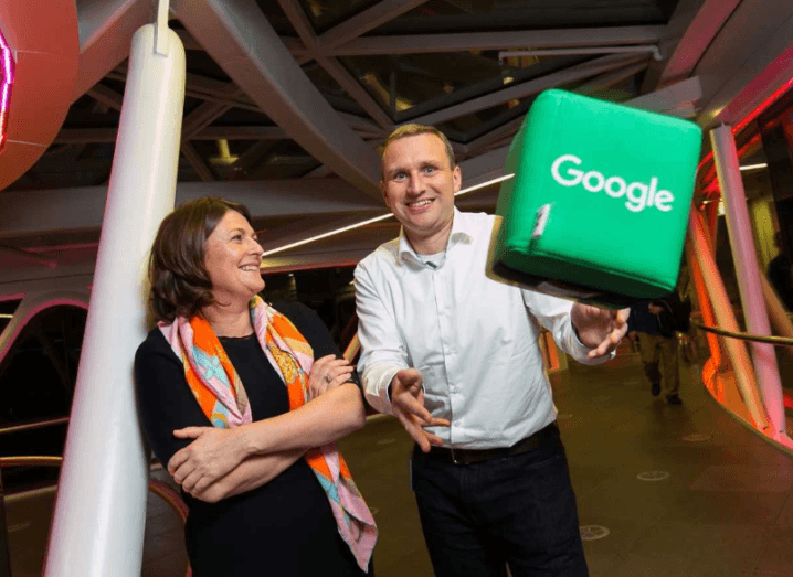 Veri named winner of Google's Adopt A Startup battle
