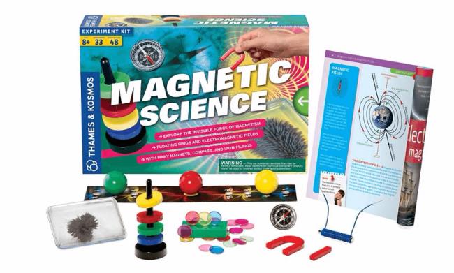 Thames & Kosmos Magnetic Science. Image: Debenhams