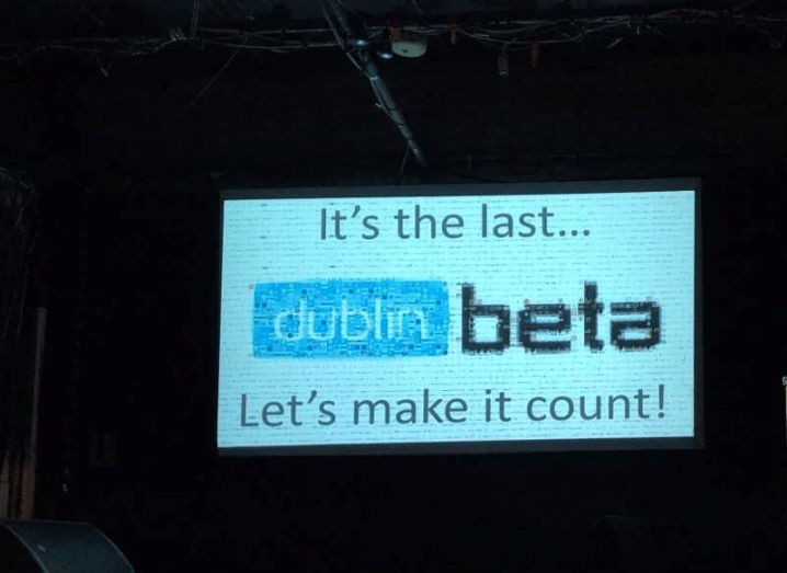 The last ever, first ever, DublinBeta interview