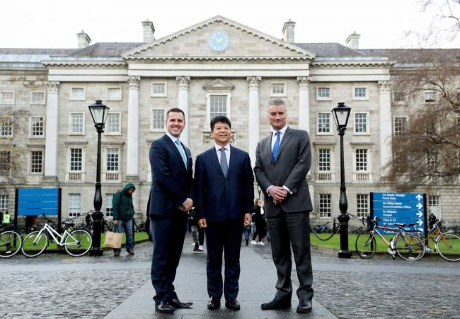 Huawei creates 20 R&D jobs in Cork and locates research hub at Trinity
