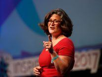 'Investment is personal' – Astia CEO Sharon Vosmek at Inspirefest 2017