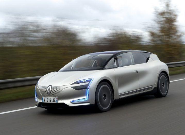 Autonomous car Renault