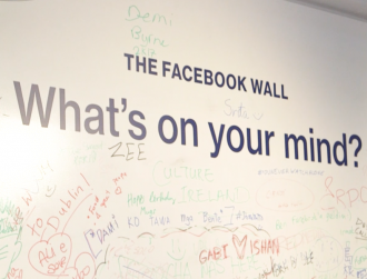 Inspirefest Pay It Forward youth groups take in a tour of Facebook