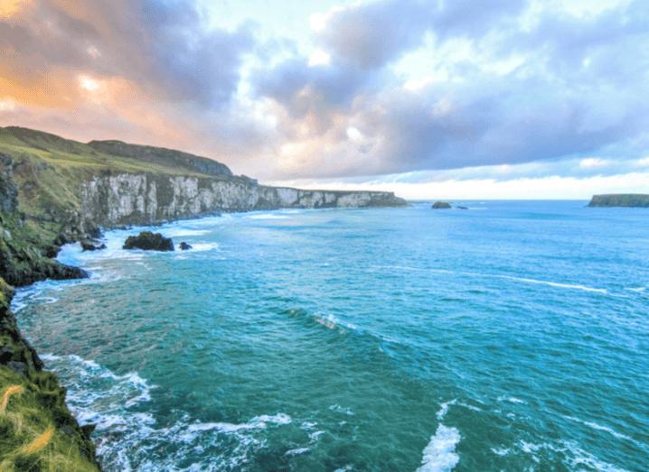 Northern Antrim coast. EY release new economic report