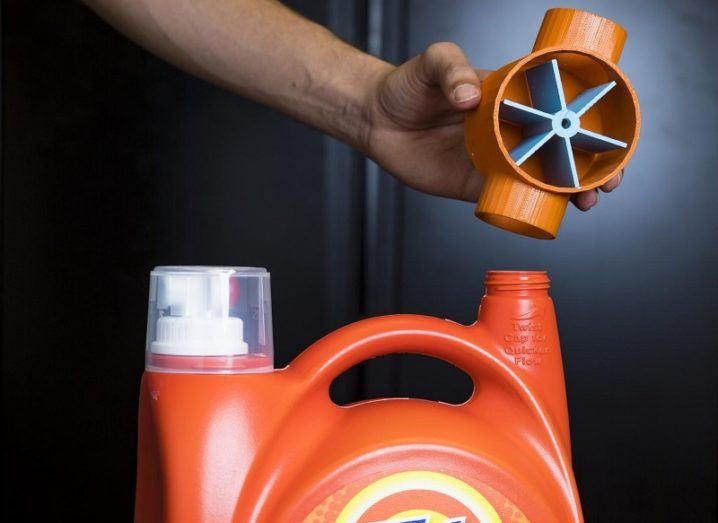 Wi-Fi 3D printed