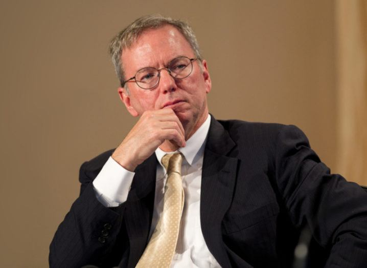 Eric Schmidt steps down as boss of Google owner